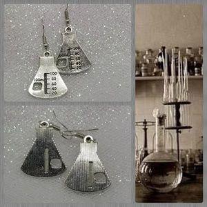 🦋AVAILABLE SOON! Erlenmyer Flask Earrings